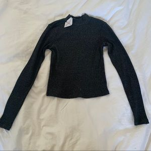 2 for $20 6ixty8ight mock neck ribbed crop top